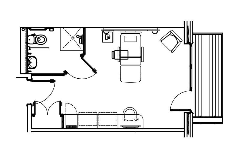 Classic room floorplan