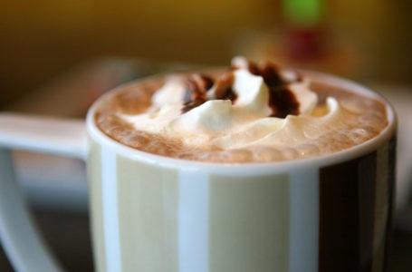 Close up image of a hot chocolate. Notaro Care Homes