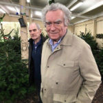 Residents at local farm choose their Christmas tree
