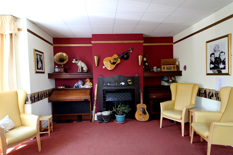 music dementia home taunton