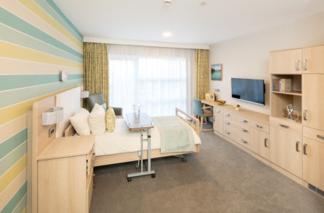 Bedroom at Casa di Lusso Dementia Care Home Bridgwater