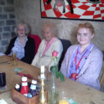 Staff and residents at Kelways Pub