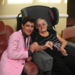Emilio Santoro-Elvis impersonator pictured with resident