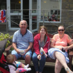 Resident's family attending the open the day