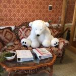 Large polar bear teddy