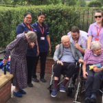 Residents and staff from Immacolata House