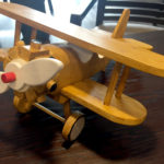John's handmade wooden plane