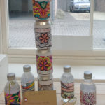 Immacolata House resident's finished bottle labels