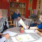 Residents designing their cake