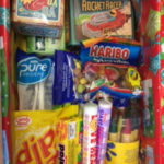 inside the packed shoe boxes from Stuart House as part of the Samaritans' Purse 'Operation Christmas Child' appeal.
