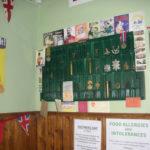 The Blitz Tearoom memorabilia