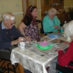 Residents make Easter weekend arts and crafts