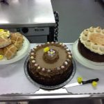 Immacolata House's home made Easter Cakes