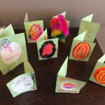 Casa di Lusso resident's home made Easter cards