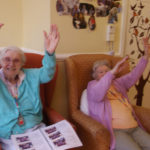 Residents doing their armchair exercises