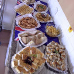 Immacolata House's 'royal' buffet laid out