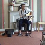 Joe Ferdinand during his live music at Immacolata House