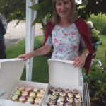 Winning cupcakes at Immacolata House Summer Fete