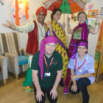 Aspen Court care home with Avtar Indian Dance raising money for Kerala