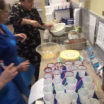 Casa di Lusso Home Manager, Marlene and care staff making freak shakes for the residents