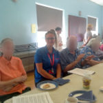 Immacolata House enjoying live music at their weekly get together with the Langport Area Dementia Action Alliance
