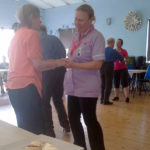 Immacolata House residents dancing to live music at their weekly get together with the Langport Area Dementia Action Alliance