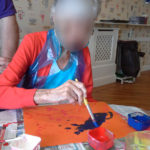 Immacolata House resident painting