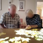 Immacolata House care home residents interacting with the Tovertafel