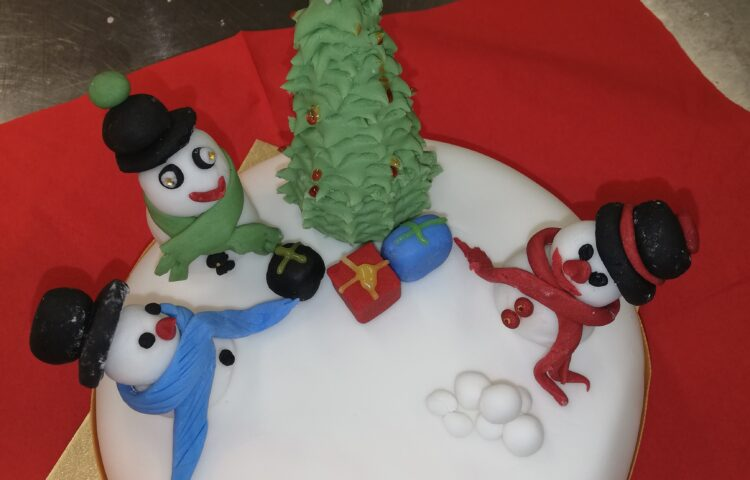 Christmas cake competition winner - Immacolata House Care Home, Langport