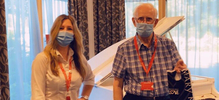 Volunteer's week at Casa di Lusso care home, Bridgwater