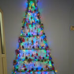 Serenita ARBD Care Home's finished homemade wooden tree