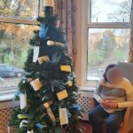 Campania ARBD Home's finished 'covid friendly' tree