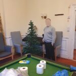 Campania resident ready to decorate the tree with 'covid friendly' decorations